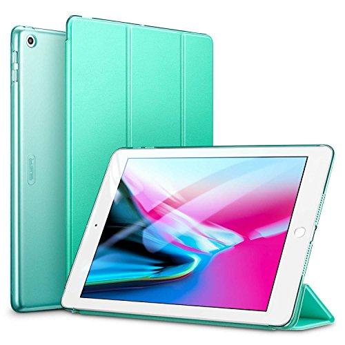 ESR Hülle Kompatibel mit iPad 2018 / iPad 2017 Modell 9,7 Zoll - Ultra Dünnes Smart Hülle Cover mit Auto Schlaf-/Aufwachfunktion - Kratzfeste Schutzhülle für iPad 6/5 Generation - Minzgrün
