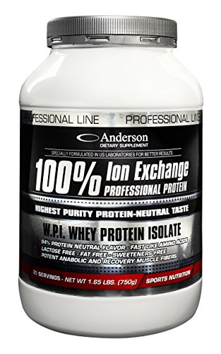 Anderson 100% Ion Exchange Protein Neutro - 750 Gr