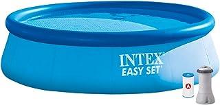 Intex 28132NP Piscina hinchable, con depuradora, 5.621 litros, 366 x 76 cm