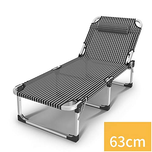 OH Aluminiumlegierung rohr sommer bett klappbett winter büro siesta bett einzelbett camp bett lounge stuhl uh / 1001