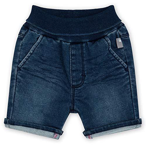 Sigikid Baby-Jungen Jeans für Kinder, Blau/Sweat Denim, 92