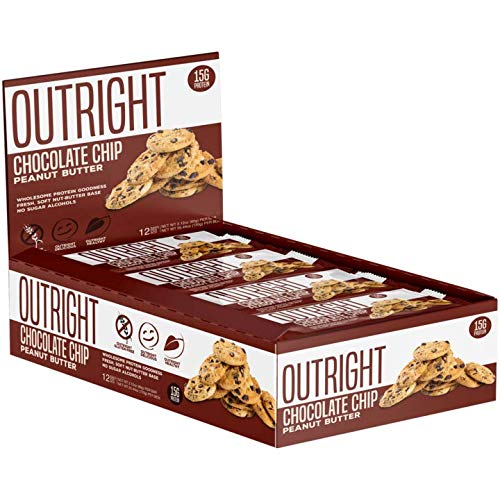 Outright Bar - Whole Food Protein Bar - 12 Pack - MTS Nutrition - Peanut Butter Chocolate Chip