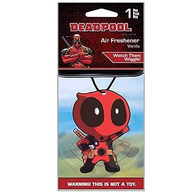 Plasticolor 005425R01 Marvel Comics Deadpool Wiggler Car Air Freshener