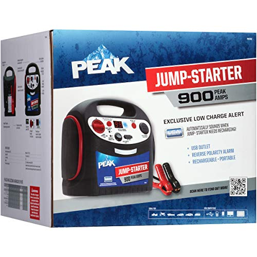 Buy Discount PEAK Portable Jump Starter, 900 AMP