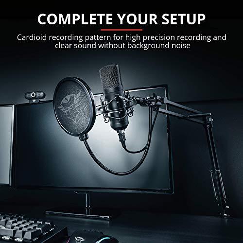 Trust Gaming GXT 252 Emita Plus Streaming USB Mikrofon für PC, PS4 und PS5