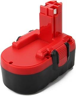 Lotive 18V 3000mAh Ni-MH Battery Compatible with Bosch 18v Battery BAT025 BAT026 BAT160 BAT180 BAT181 BAT189