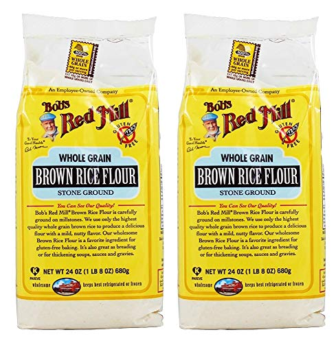 Bob's Red Mill Brown Rice Flour-24 Oz-2 Pack
