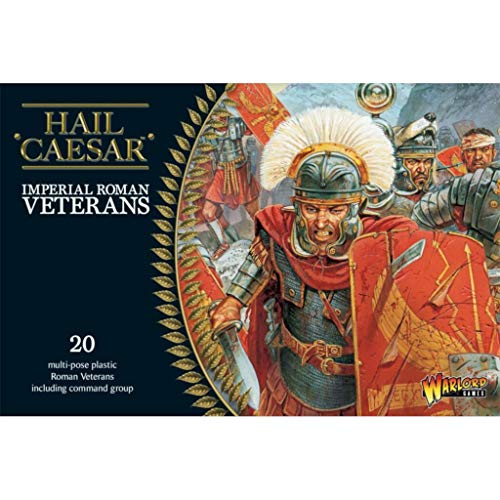 Hail Ceaser 1/56th - Imperial Roman Veterans - 20x Plastic 28mm Miniatures by Warlord Games