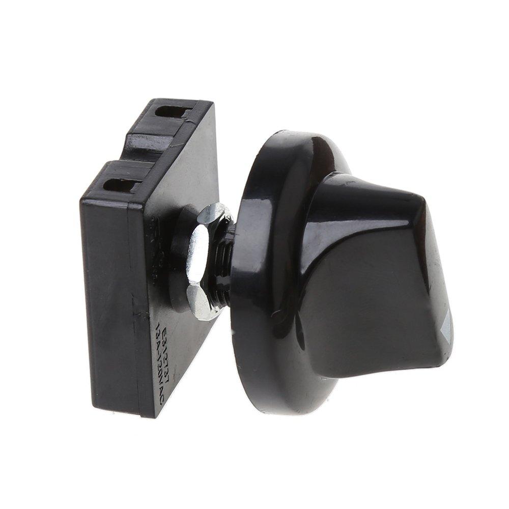 Zuanty-Planting Regulador de Velocidad de 3 Niveles con botón Giratorio 13AMP 120V-250V.: Zuanty: Amazon.es: Hogar