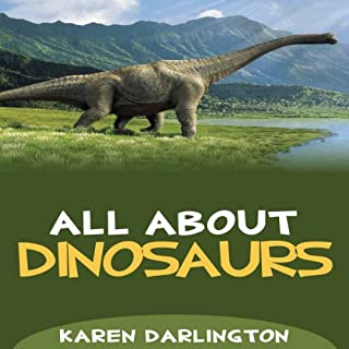 All About Dinosaurs audiobook cover art