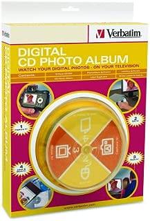 Verbatim Digital CD Photo Album CD-RW x 10 - 650 MB - storage media ( 95030 ) (Discontinued by Manufacturer)