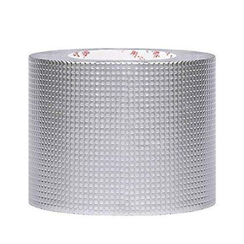 Bestine Cinta de goma butílica, súper impermeable, cinta de aluminio de caucho...