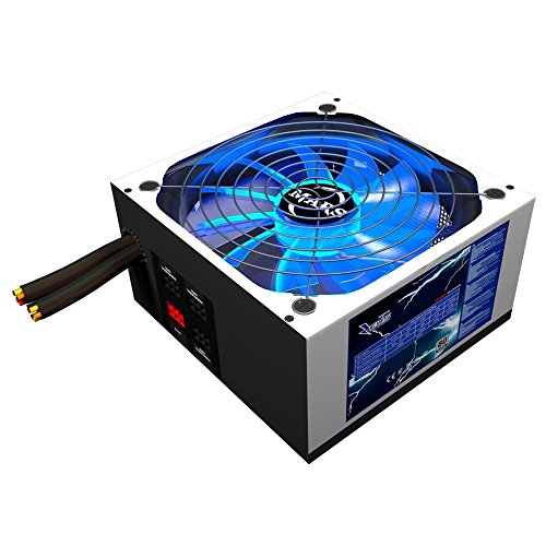 Mars Gaming MPZE750, Fuente PC 750W Modular, 80Plus Silver,