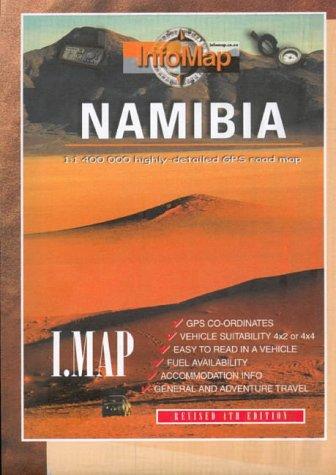 Namibia GPS r/v infomap: Highly Detailed GPS Road Map