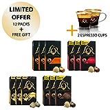 L'OR Espresso Café Espresso paquete de amante - Nespresso * Cápsulas de café de...