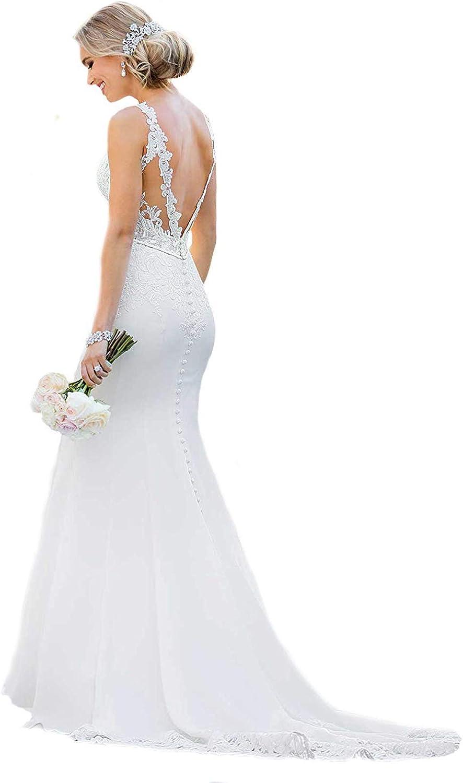Princess Women's Sexy Industry No. 1 Backless Appliques San Antonio Mall Dresses Lo 2020 Wedding