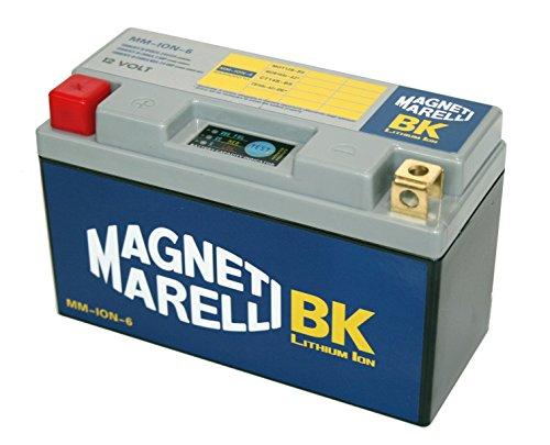 MM-ION-6 - Batería de litio para motocicletas (equivalente a YT12B-BS 11 AH / YB16AL-A2 16 AH / YT14B-BS 12 AH)
