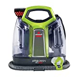 BISSELL 2513E Little Green Proheat Portable Deep Cleaner/Spot Cleaner with self-Cleaning HydroRinse Tool