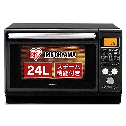 アイリスオーヤマ 過熱水蒸気 スチームオーブンレンジ 24L