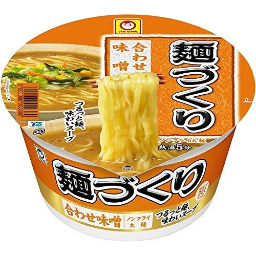 マルちゃん 麺づくり 合わせ味噌 104g×2箱【24食入】