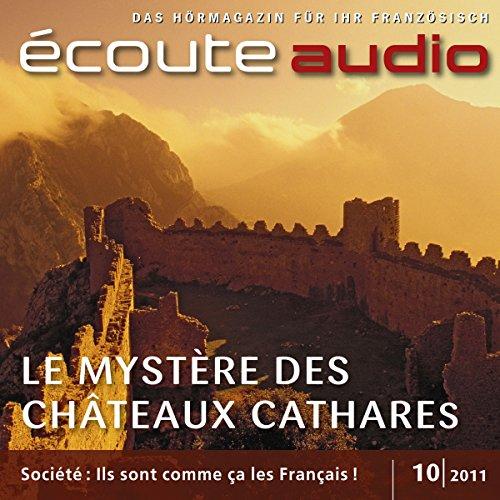 Écoute audio - Les châteaux cathares. 10/2011 audiobook cover art