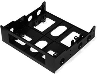 Kingwin 2.5 Inch to 3.5 Inch Internal Hard Disk Drive Mounting Kit 1 x 3.5 HDD/SSD to 5.25 Plastic HDM-228