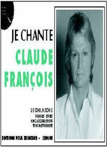 Partition : Je chante Claude Francois