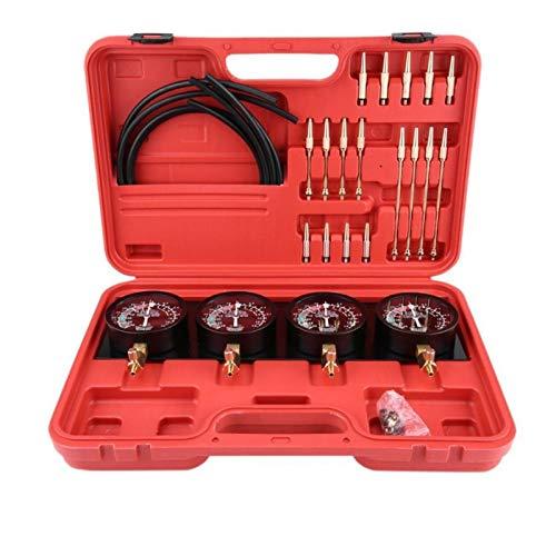 4 stücke Motorrad Kraftstoff Vakuum Vergaser Carbon Synchronizer Werkzeug Balancer Gauge Kit Metall Auto Zubehör