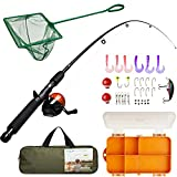 Best Fishing Pole For Boys - Kids Fishing Rod Combo Set with Tackle Box Review