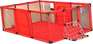 Hxmwl Playpens Children s Fence Baby Play Fence Breathable Net Baby Playpen  Children s Home Safety Fence  Indoor Playground  Suitable for Baby Children Newborn Baby Safety Crawl