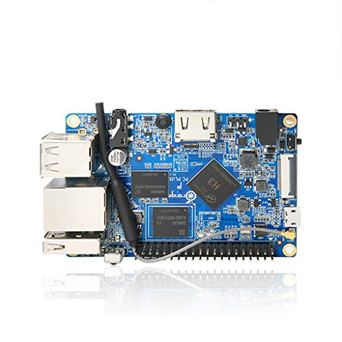 Taidacent Orange Pi PC Plus H3 A7 Quad Core Arm Development Board Programming Microcontroller Open Source Maker