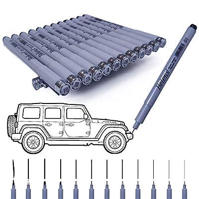 Precision Micro-Line Pens, Rilanmit Fineliner, ...