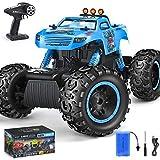 RC Car, NQD 1:12 Remote Control Big Monster Truck, 4WD Off Road Rock Crawlers, Radio Remote Control Car, All Terrain Climbing Car, Gift for Boys & Girls