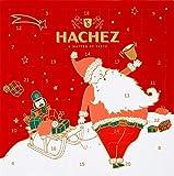 Hachez Adventskalender Weihnachtsmann, 1er Pack (1 x 160)