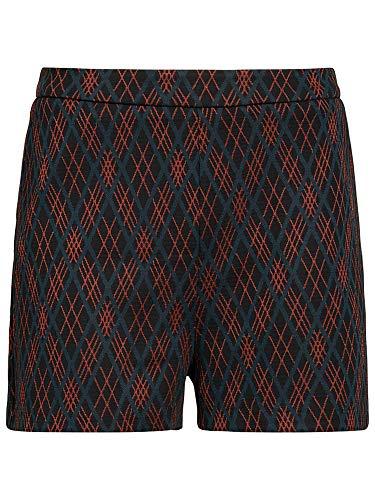 King Louie Damen Shorts Argyle (XXL, Black)