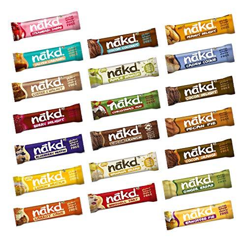 Nakd Mixed Case Selections (Scegli il tuo preferito (20 barrette))