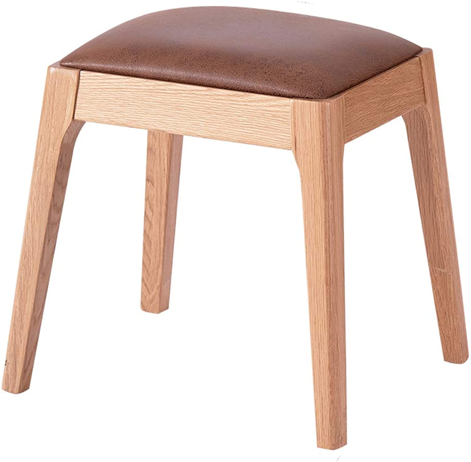 Dressing Stool Makeup Seat Piano Chair Padded Bench Chair,Technology Cloth Solid Wood Legs Upholstered, for Dressing Room Living Room Bedroom,3 colors