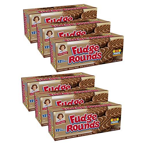 Little Debbie Fudge Rounds Big Pack, 6 Boxes
