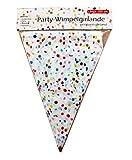 Unbekannt Party Serie di GAGLIARDETTI Catena Bavaglini Confetti 320cm
