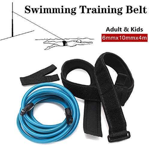 Pollara3/4 Meter Schwimmtrainer Schwimmgürtel, Einstellbarer Schwimmwiderstandsgürtel für den Pool, Langlebiges Schwimmband Schwimmtrainingsband für Schwimmtraining für Erwachsene und Kinder