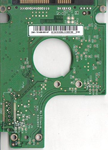 WD1600BEVT-35ZCT0, 2061-701499-500 AF, WD SATA 2.5 Leiterplatte (PCB)
