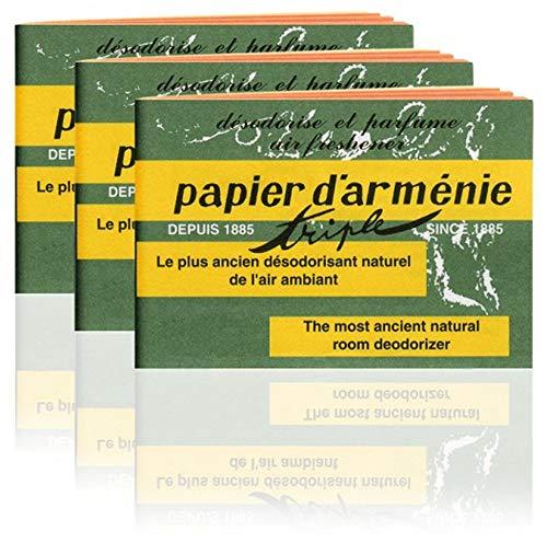 Papier d'Arménie G83 Räucherstäbchen, Booklet (Pack of 3)