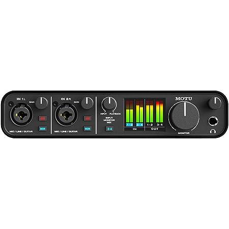 M4 MOTU 4x4オーディオインターフェース USB-C [並行輸入品]