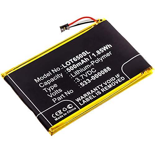 subtel® Qualitäts Akku kompatibel mit Logitech MX Master/Touchpad T650, 533-000088 500mAh Ersatzakku Batterie