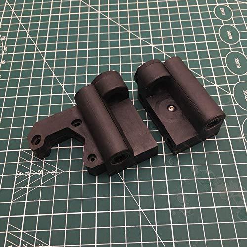 1 Juego for Prusa I3 MK3 de moldeo de Piezas de Nylon X Eje X Eje X Partes Idler Derecha/Izquierda Función de Equipo, acompañado del Eje X Tensor de Correa (tamaño : 17mm Distance)