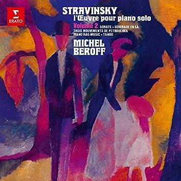 Stravinsky: L'œuvre pour piano solo, vol. 2. Trois mouvements de Pétrouchka, Piano-Rag Music & Tango