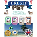 Trade Chemicals FRESH PET ECO Refill to make 4x5L Kennel, Cattery, Pet Disinfectant, Cleaner (TROPICAL PACK) 6