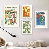 Flower Shop Sign Ästhetische Poster Nordische Wand Bilder