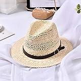 kyprx Gorras de béisbol para Hombres Gorras de Vaquero de béisbol para Hombres Cinturón Ahuecado para Hombre Sombrero de Sol de Playa