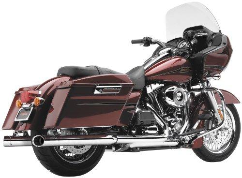 'Terminals Auspuff Schalldämpfer 3Slash Cut Chrom Cobra Harley Davidson FLT 95–14